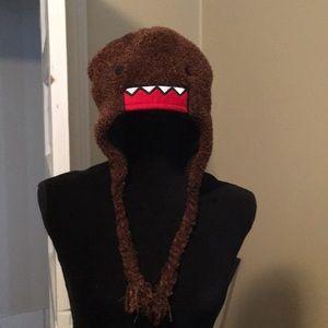 Fuzzy Domo winter heidi hat